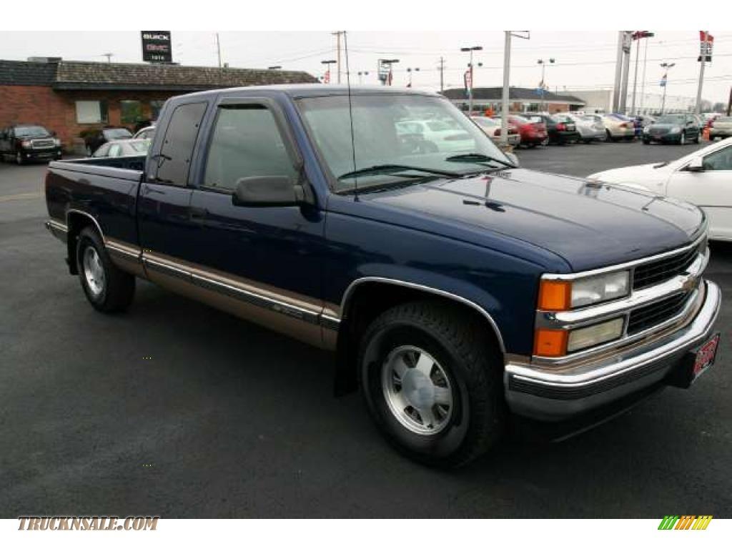 1998 Chevrolet C K C1500 Extended Cab In Indigo Blue Metallic 209950 Truck N Sale