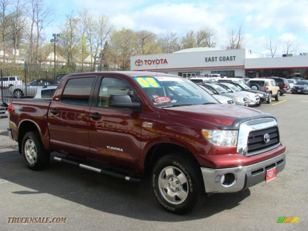 2008 Toyota Tundra Trd Crewmax 4x4 In Salsa Red Pearl
