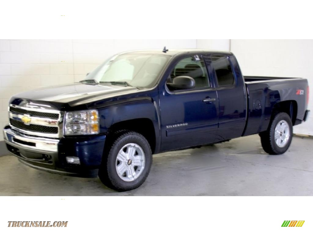 2011 chevrolet silverado 1500 lt extended cab 4x4 in imperial blue metallic photo 3 303198. Black Bedroom Furniture Sets. Home Design Ideas