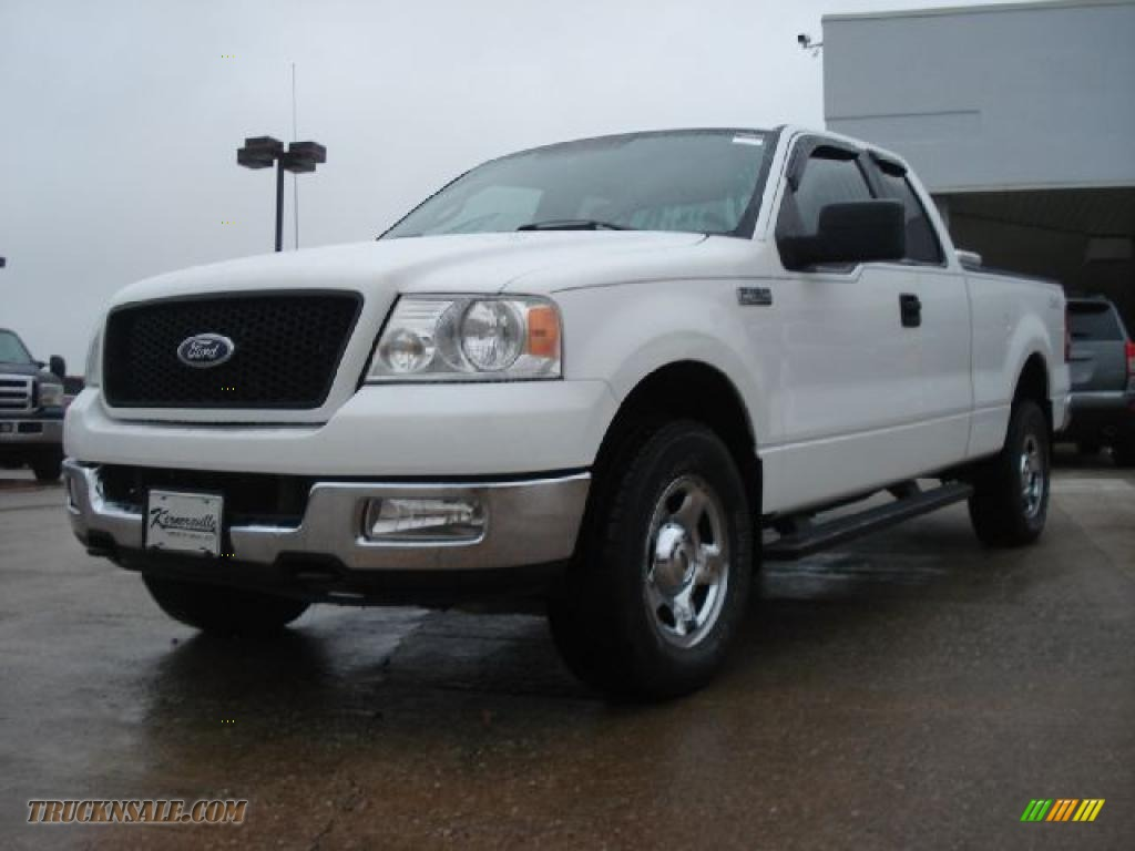 2005 ford f150 xlt supercab 4x4 in oxford white b70162. Black Bedroom Furniture Sets. Home Design Ideas