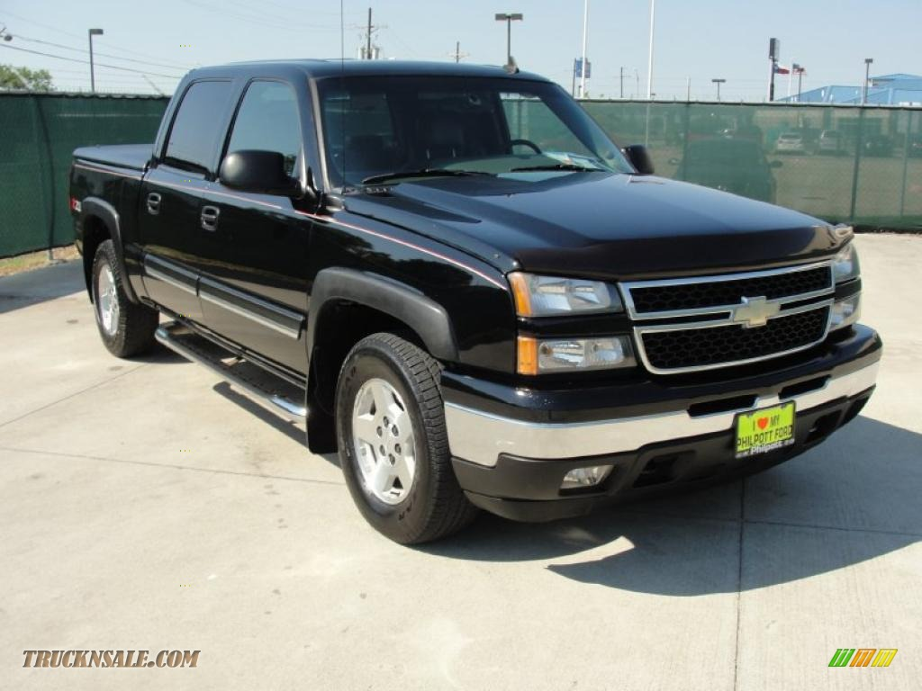 2006 chevrolet silverado 1500 z71 crew cab 4x4 in black 106158. Cars Review. Best American Auto & Cars Review