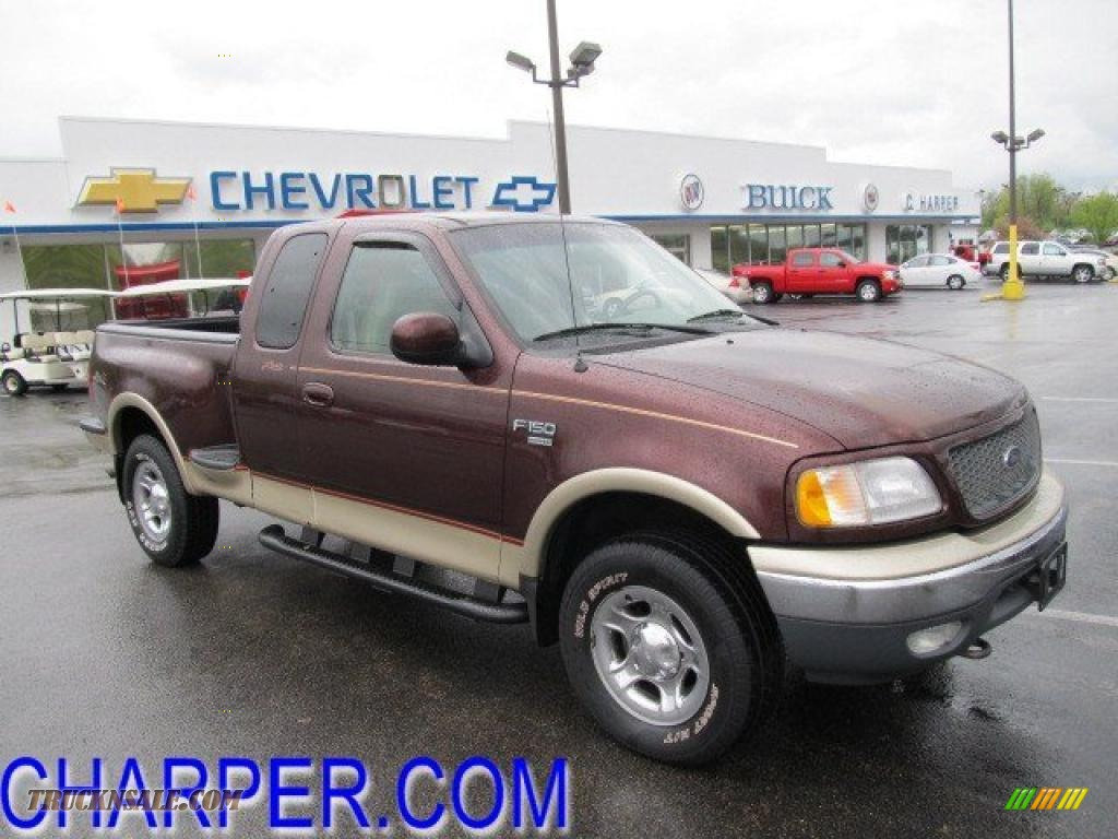 2000 ford f150 lariat extended cab 4x4 in chestnut. Black Bedroom Furniture Sets. Home Design Ideas