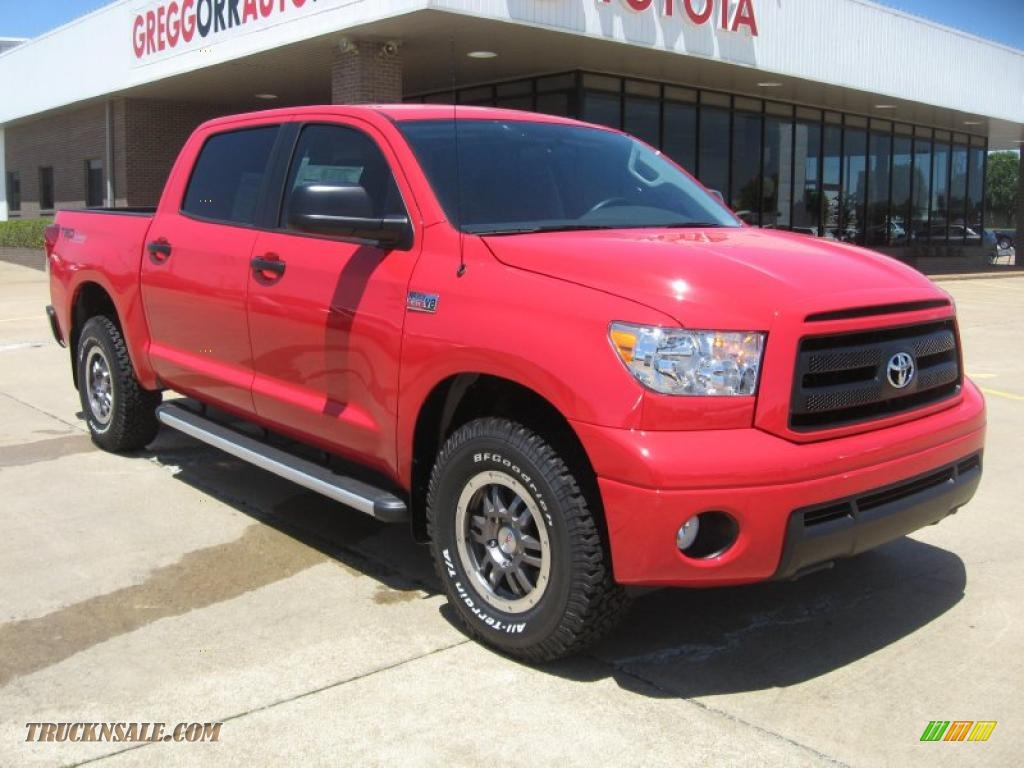 2011 Toyota Tundra Trd Rock Warrior Crewmax 4x4 In Radiant