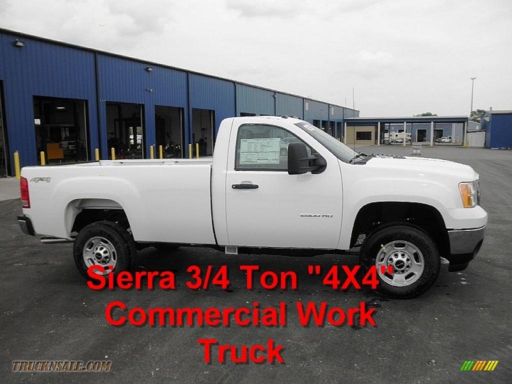 2011 Gmc Sierra 2500hd Work Truck Regular Cab 4x4 In