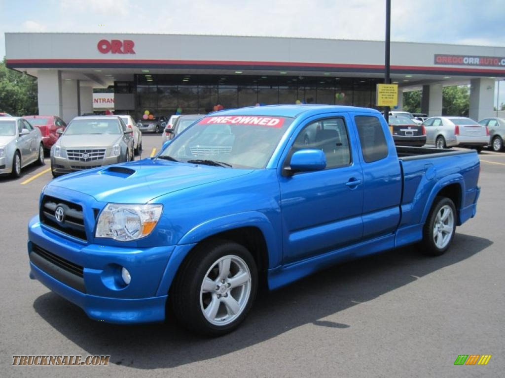 2008 Toyota Tacoma X Runner In Speedway Blue 522325