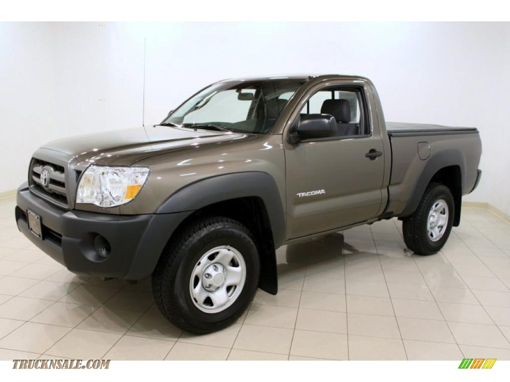 2010 toyota tacoma regular cab 4x4 in pyrite mica photo 3 682821 truck n 39 sale. Black Bedroom Furniture Sets. Home Design Ideas