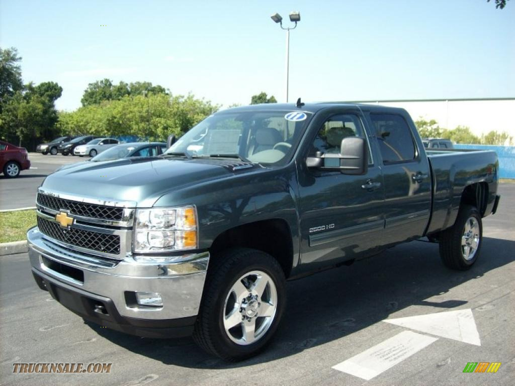2011 chevrolet silverado 2500hd ltz crew cab 4x4 in blue granite metallic 230456 truck n 39 sale. Black Bedroom Furniture Sets. Home Design Ideas
