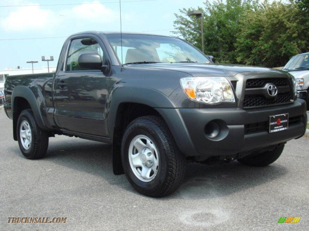 2011 Toyota Tacoma Regular Cab 4x4 In Magnetic Gray
