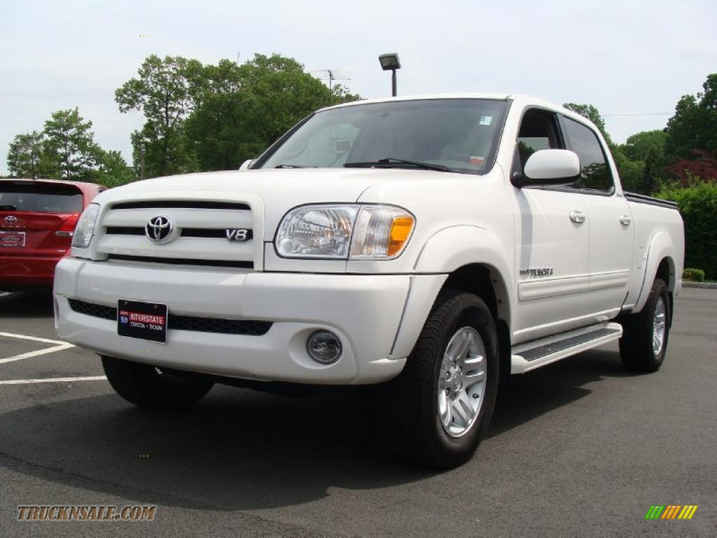 2006 toyota tundra limited double cab 4x4 in natural white 537107 truck n 39 sale. Black Bedroom Furniture Sets. Home Design Ideas