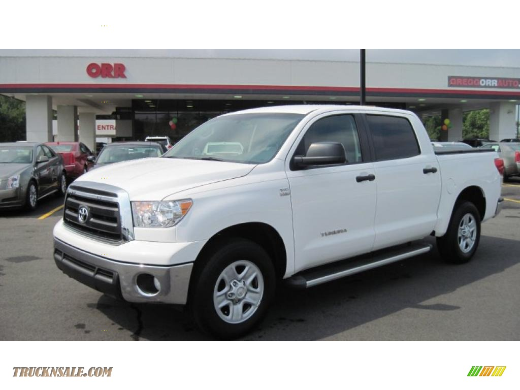 Orr Toyota Hot Springs 2010 Toyota Tundra Crewmax In Super White 001124 Truck N39 Sale
