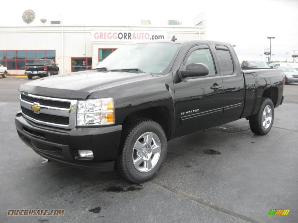 High Country Motors Mountain Home Arkansas >> 2011 Chevrolet Silverado 1500 LTZ Extended Cab in Black - 356023   Truck N' Sale