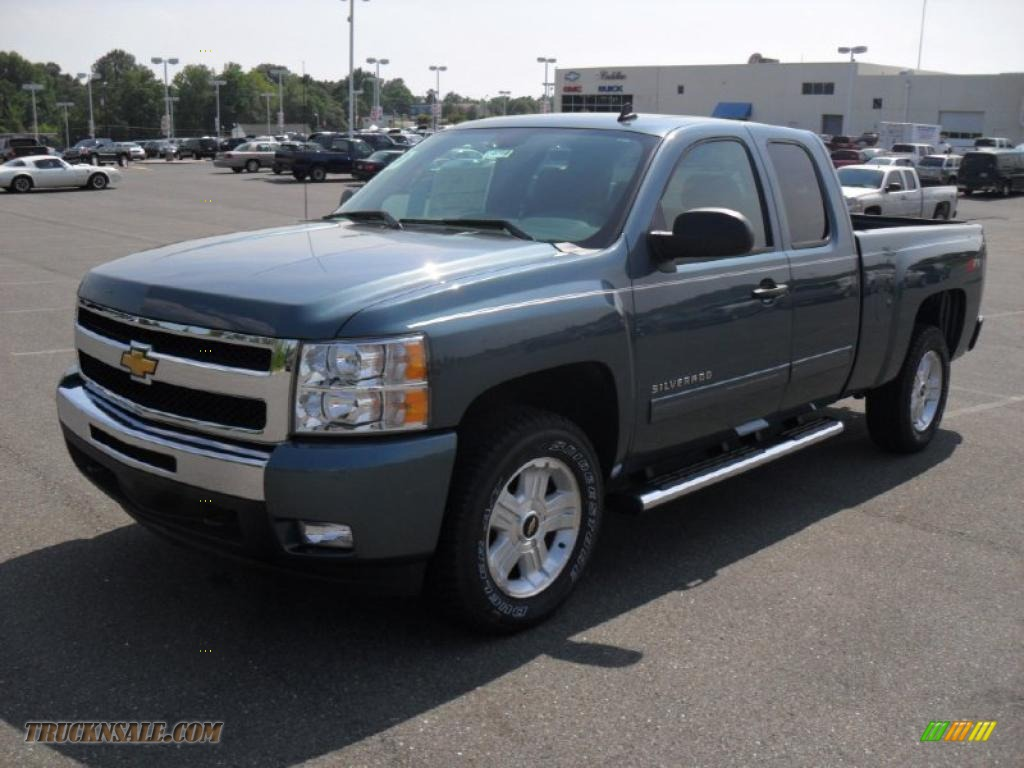 2011 chevrolet silverado 1500 lt extended cab in blue granite metallic 338229 truck n 39 sale
