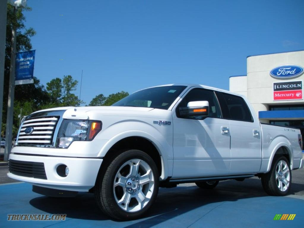 2011 ford f150 lariat supercrew in white platinum metallic tri coat b68905 truck n 39 sale. Black Bedroom Furniture Sets. Home Design Ideas