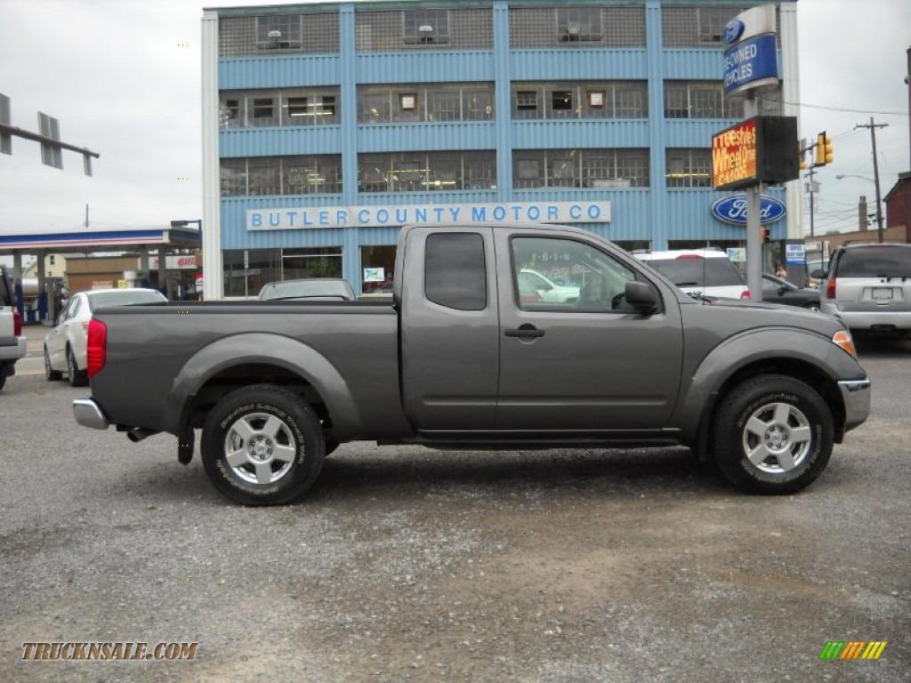 2008 nissan frontier se king cab 4x4 in storm grey 403519 truck n 39 sale. Black Bedroom Furniture Sets. Home Design Ideas