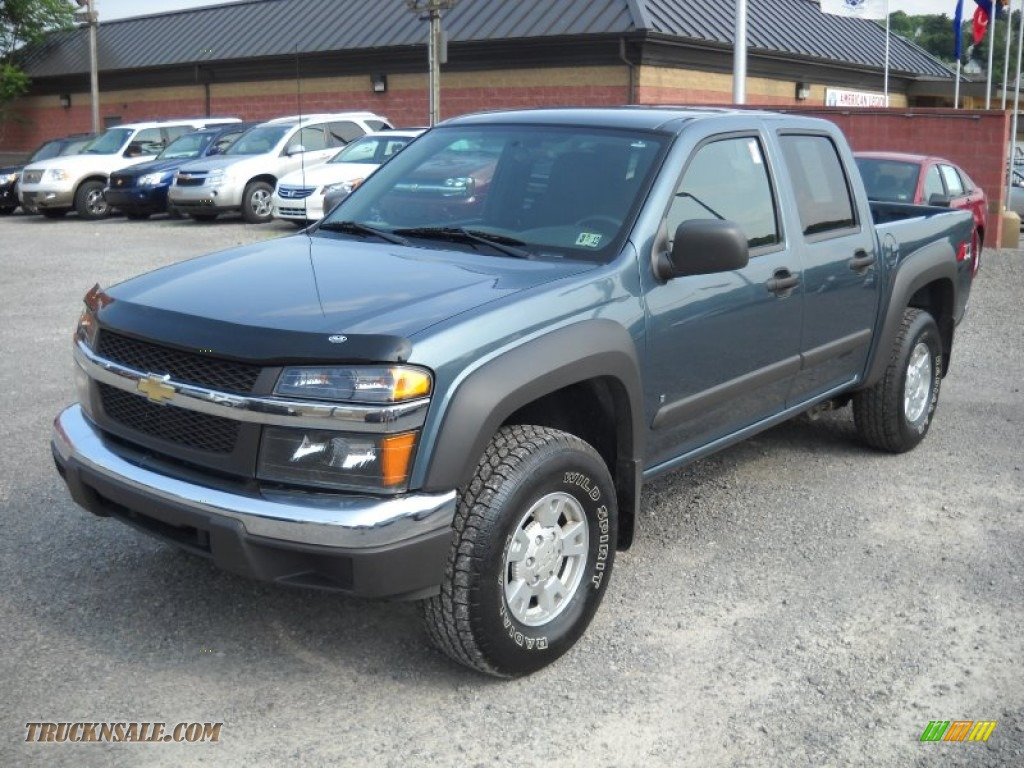 2007 chevrolet colorado lt crew cab 4x4 in blue granite. Black Bedroom Furniture Sets. Home Design Ideas