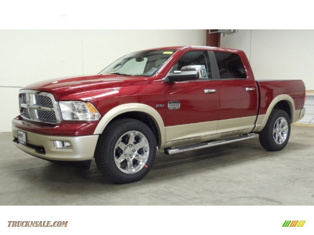 2011 dodge ram 1500 laramie longhorn crew cab 4x4 in deep cherry red crystal pearl photo 33. Black Bedroom Furniture Sets. Home Design Ideas