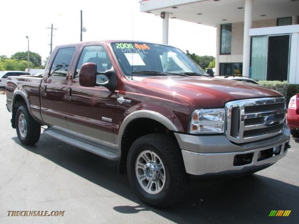 2006 Ford F250 Super Duty King Ranch Crew Cab 4x4 In Dark Copper Metallic B88994 Truck N 39 Sale