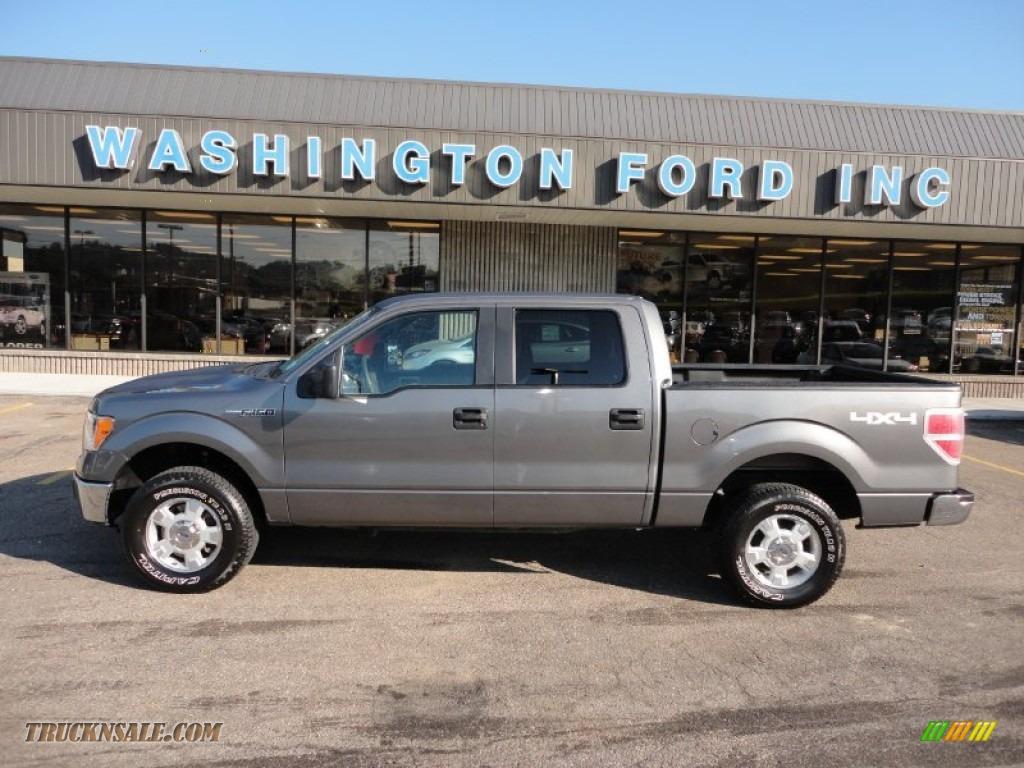 2010 ford f150 xlt supercrew 4x4 in sterling grey metallic c36663 truck n 39 sale. Black Bedroom Furniture Sets. Home Design Ideas