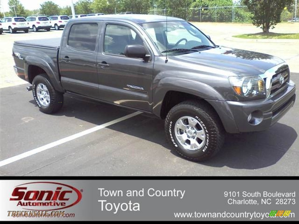 2010 toyota tacoma v6 sr5 prerunner double cab in magnetic gray metallic 102370 truck n 39 sale. Black Bedroom Furniture Sets. Home Design Ideas