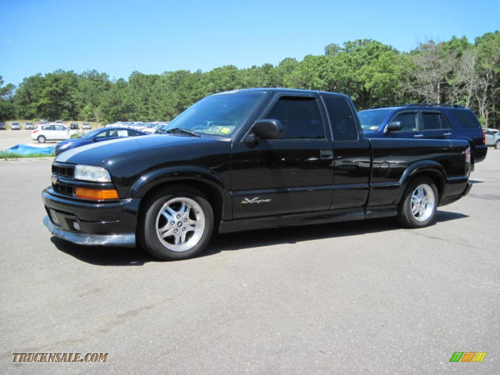 2003 Chevrolet S10 Xtreme Extended Cab In Black Onyx