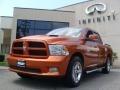Dodge Ram 1500 Sport Crew Cab 4x4 Mango Tango Pearl photo #1