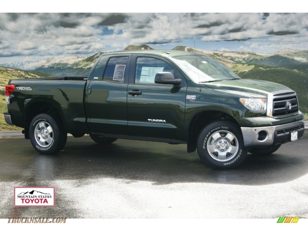2011 Toyota Tundra Trd Double Cab 4x4 In Spruce Green Mica