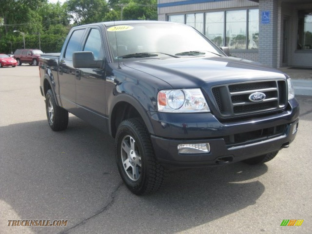 2004 ford f150 fx4 supercrew 4x4 in true blue metallic. Black Bedroom Furniture Sets. Home Design Ideas