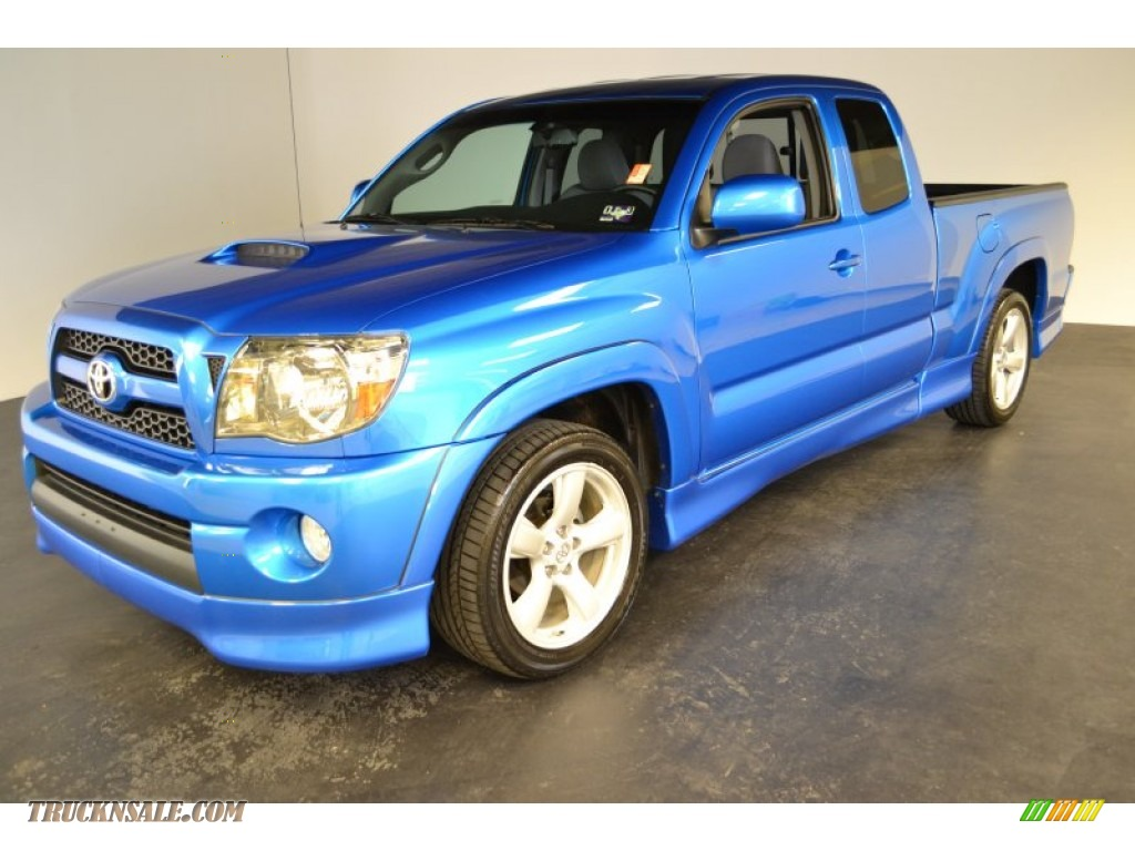 2011 toyota tacoma x runner in speedway blue 001161 truck n 39 sale. Black Bedroom Furniture Sets. Home Design Ideas