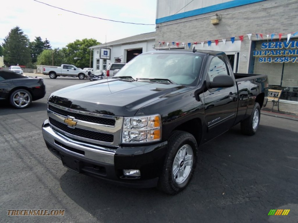 2011 Chevrolet Silverado 1500 LT Regular Cab 4x4 in Black ...