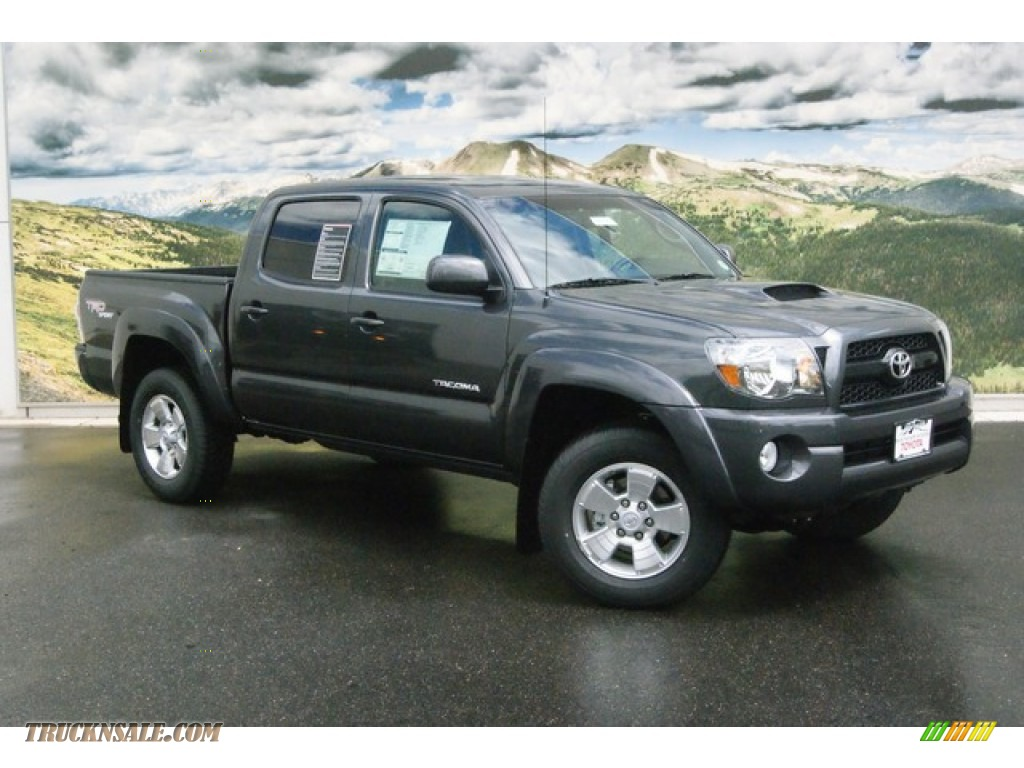 Toyota Tacoma Keyless Entry 2011 Tacoma V6 TRD Sport Double Cab 4x4 - Magnetic Gray Metallic ...