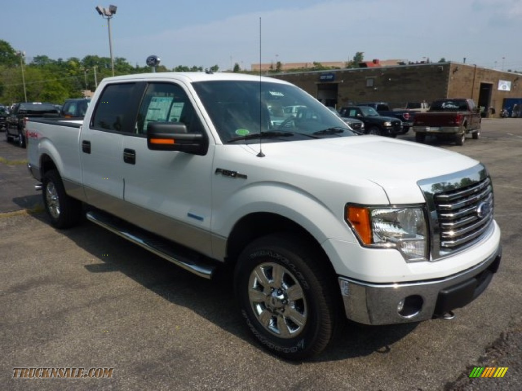 2011 ford f150 xlt supercrew 4x4 in oxford white c34011 truck n 39 sale. Black Bedroom Furniture Sets. Home Design Ideas