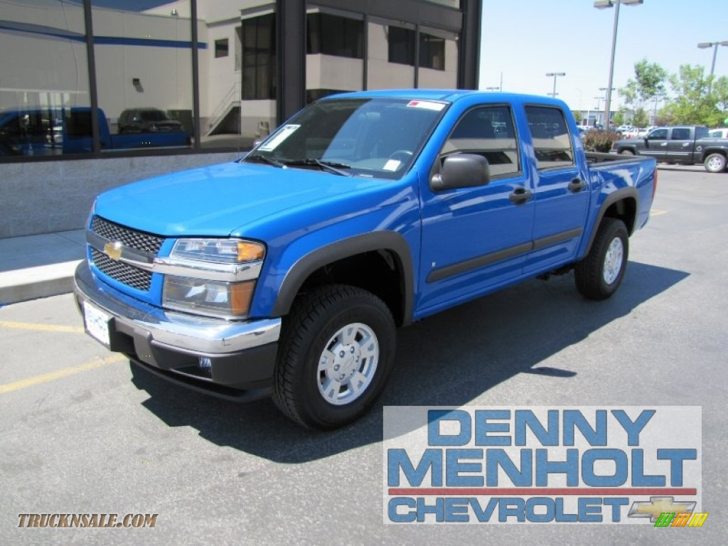 2008 Chevrolet Colorado Lt Crew Cab 4x4 In Pace Blue