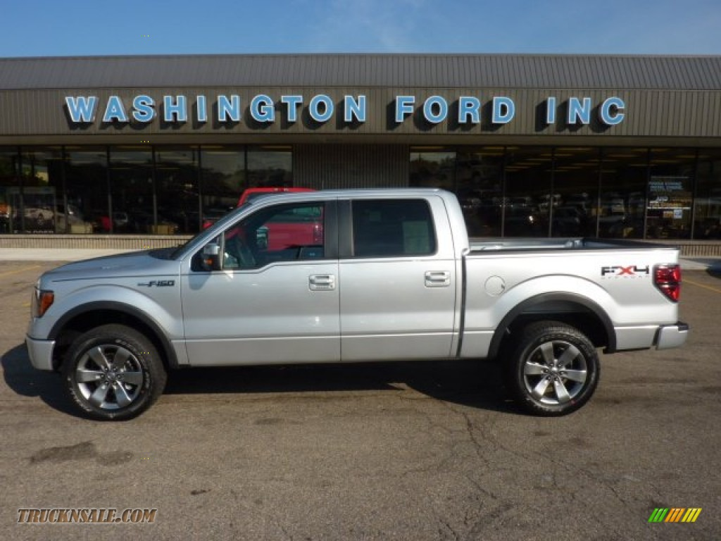 2011 ford f150 fx4 supercrew 4x4 in ingot silver metallic b96127 truck n. Cars Review. Best American Auto & Cars Review