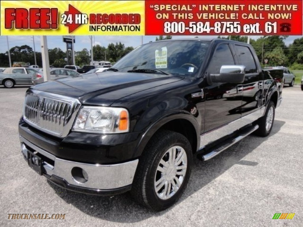 Pine Belt Ford >> 2007 Lincoln Mark LT SuperCrew 4x4 in Black Clearcoat