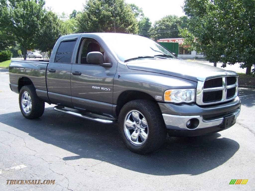 2004 dodge ram 1500 slt quad cab 4x4 in graphite metallic photo 7 150499 truck n 39 sale. Black Bedroom Furniture Sets. Home Design Ideas
