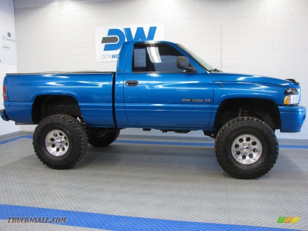 2001 ram 1500 sport regular cab 4x4 intense blue pearl agate photo 5 - 2001 Dodge Ram 1500 Lifted Single Cab