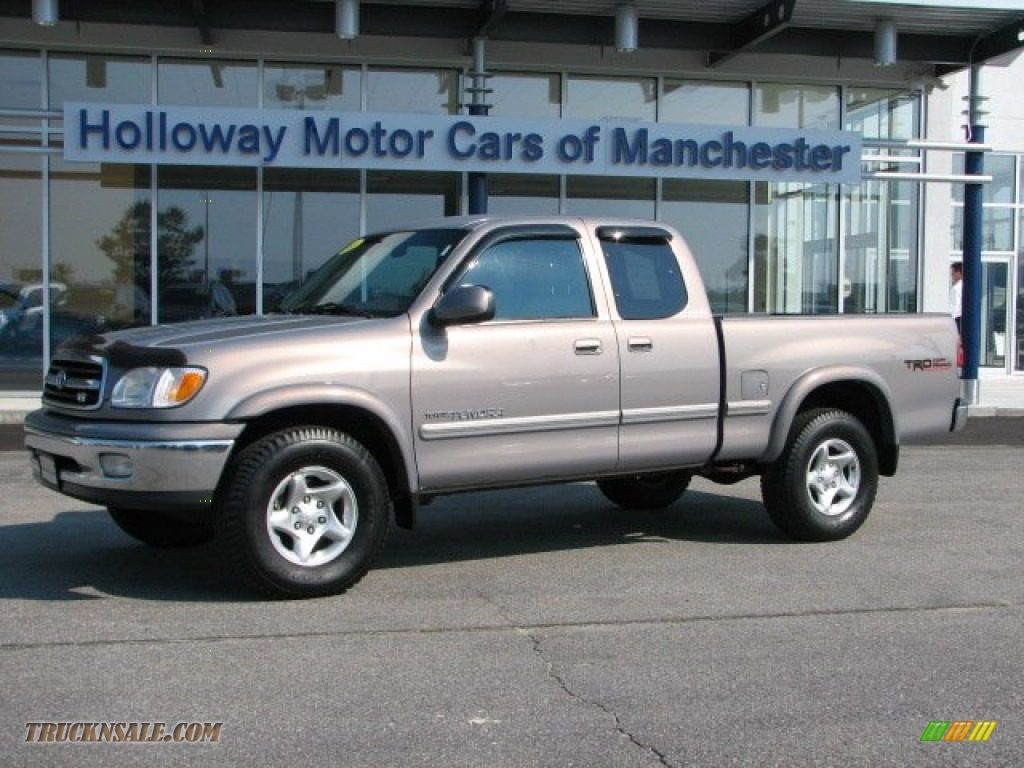 2001 Toyota Tundra Limited Extended Cab 4x4 In Desert Sand
