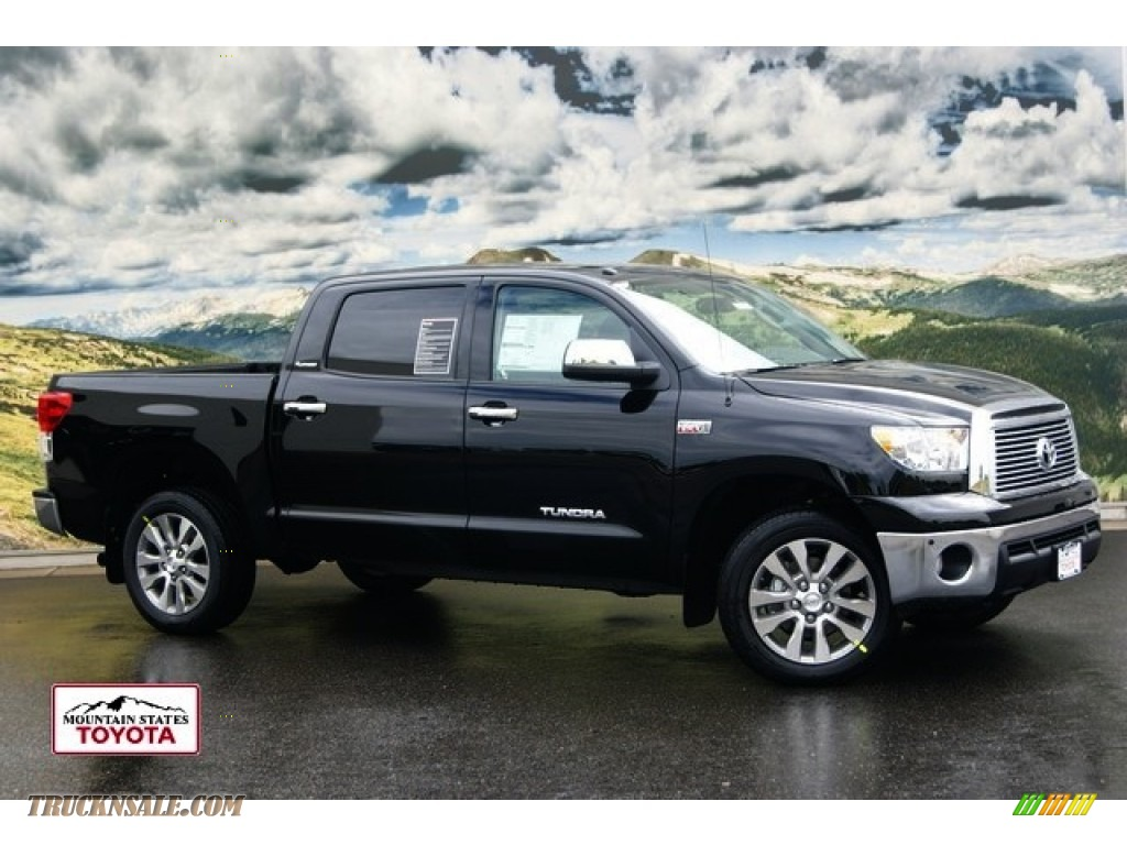 2011 toyota tundra platinum crewmax 4x4 in black 208771 truck n 39 sale. Black Bedroom Furniture Sets. Home Design Ideas