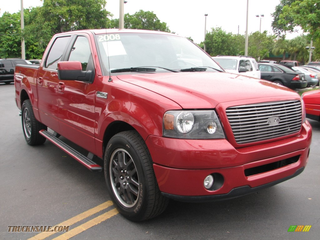 2008 ford f150 fx2 sport supercrew in redfire metallic. Black Bedroom Furniture Sets. Home Design Ideas