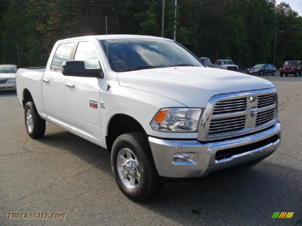 2012 dodge ram 2500 hd big horn crew cab 4x4 in bright white photo 5 107889 truck n 39 sale. Black Bedroom Furniture Sets. Home Design Ideas