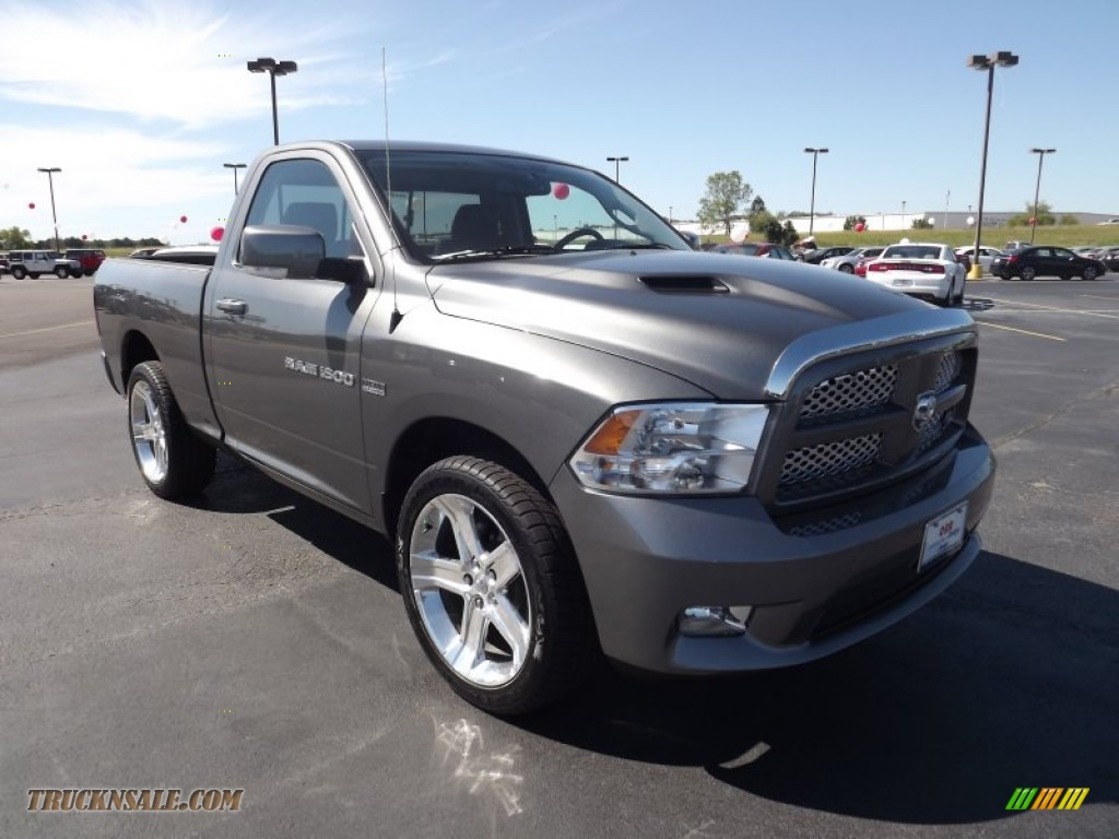 2011 dodge ram 1500 sport r t regular cab in mineral gray metallic photo 3 606860 truck n 39 sale. Black Bedroom Furniture Sets. Home Design Ideas