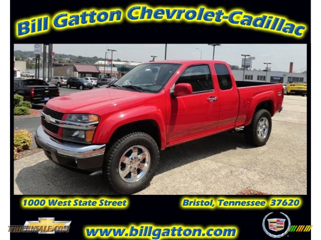 2012 chevrolet colorado lt extended cab 4x4 in victory red 101353 truck n 39 sale. Black Bedroom Furniture Sets. Home Design Ideas