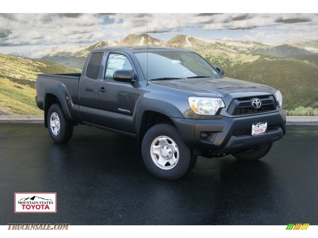 2012 toyota tacoma access cab 4x4 in magnetic gray mica photo 5 008661 truck n 39 sale. Black Bedroom Furniture Sets. Home Design Ideas