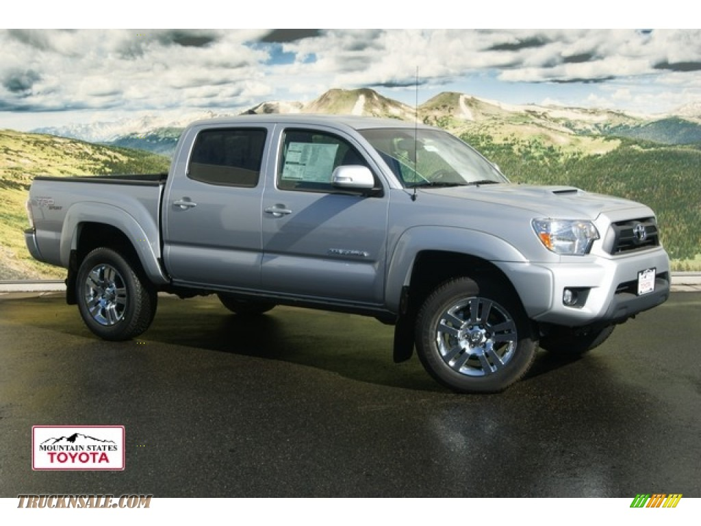 2012 toyota tacoma v6 trd sport double cab 4x4 in silver streak mica photo 2 081263 truck n. Black Bedroom Furniture Sets. Home Design Ideas
