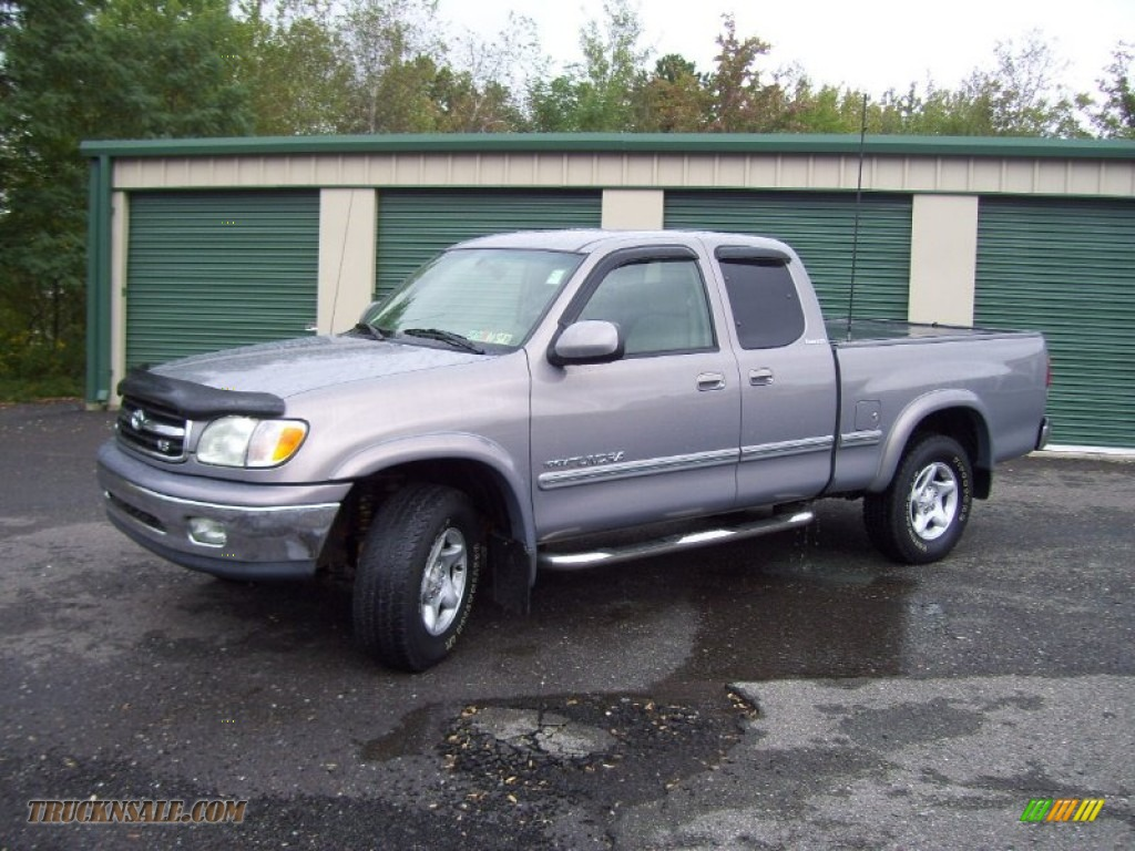 2001 toyota tundra limited extended cab 4x4 in thunder gray metallic 208170 truck n 39 sale. Black Bedroom Furniture Sets. Home Design Ideas