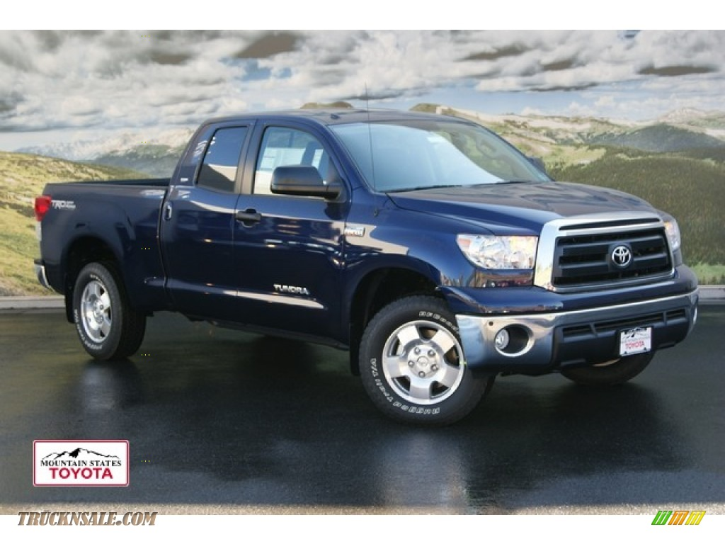 2012 toyota tundra trd double cab 4x4 in nautical blue metallic 212090 truck n 39 sale. Black Bedroom Furniture Sets. Home Design Ideas