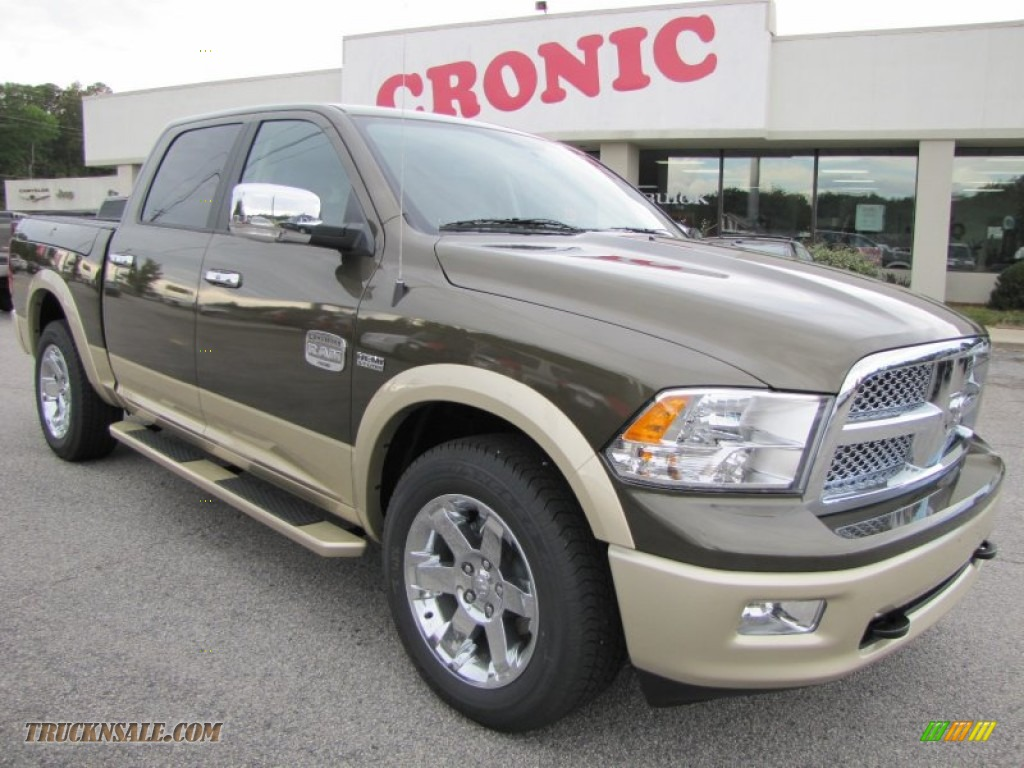 2012 dodge ram 1500 laramie longhorn crew cab 4x4 in sagebrush pearl 146746 truck n 39 sale. Black Bedroom Furniture Sets. Home Design Ideas