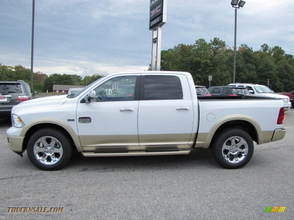 2012 dodge ram 1500 laramie longhorn crew cab 4x4 in bright white photo 4 145839 truck n 39 sale. Black Bedroom Furniture Sets. Home Design Ideas