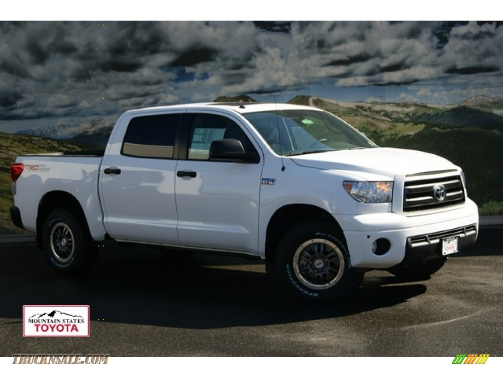 2012 Toyota Tundra Trd Rock Warrior Crewmax 4x4 In Super