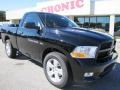 Dodge Ram 1500 Express Regular Cab Black photo #1
